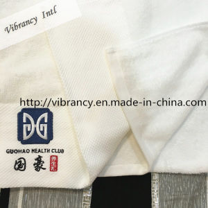 100% Cotton Customize Logo Hotel Jacquard Bath Towel pictures & photos