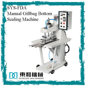 Manual Giftbag Bottom Sealing Machine (SYS-FDA) pictures & photos