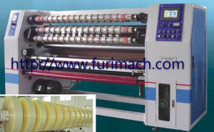 Machines to Cut The Scotch Jumbo Rolls/BOPP Packing Tape Making Machine pictures & photos