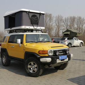 4X4 Accessories 4WD off Road SUV Camping Tent Hard Shell Fiberglass Car Roof Top Tent pictures & photos
