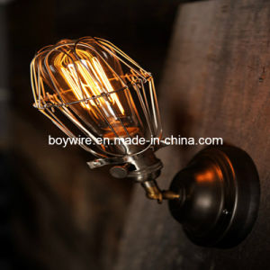 Antique Wall Lamp Iron Lamp Cage with Edison Bulbs pictures & photos