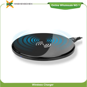 Ultra Slim Wireless Charger Qi Certified Wireless Charger Transmitter Q12 pictures & photos