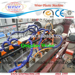 PE Spiral Wrapping Band Production Line/Spiral Pipe Extrusion Line pictures & photos