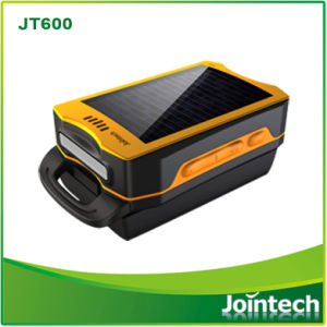 Mini Size Portable Solar Chargeable GPS Tracker for Field Worker Tracking Solution pictures & photos