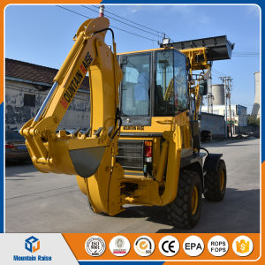 Chinese Hot Selling Mini Backhoe Digger Excavator pictures & photos