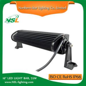 """16"""" Vehicle 12V LED Light Bar LED Work Light High Quality 72W LED Light Bars pictures & photos"""