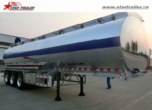 Light Weight Fuel Tanker Trailer Aluminium Tanker pictures & photos