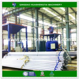 Drill Pipe Internal Descaling Sandblasting Machine with CE Certification