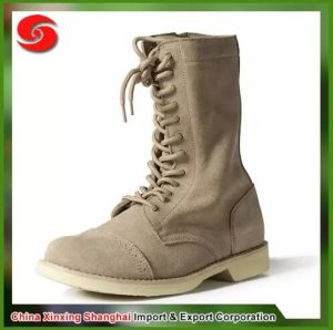 Cow Leather Military Tactical Combat Boots pictures & photos