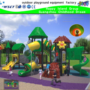 New Design Green Tree House Playground Equipment on Stock (HK-50030) pictures & photos