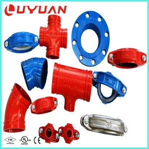 UL FM Approvals Ductile Iron Grooved Elbow with 90 Degree 45 Degree 22.5 Degree for Fire Safety System pictures & photos