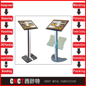 Contracted Style Steel Metal Displays for Shop pictures & photos