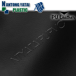 Factory Stock High Quality PU Fabric Leather pictures & photos