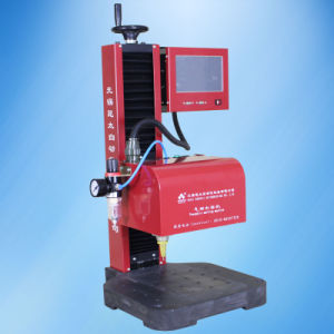 CNC Pneumatic DOT Peen Marking Machine for Metal pictures & photos