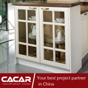 Paris Story Classic German Plastic Uptake PVC Kitchen Cabinet (CA14-10) pictures & photos