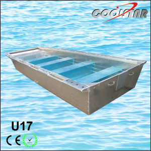 17FT 2.0mm Thickness U Type Flat Bottom Aluminium Fishing Boat pictures & photos