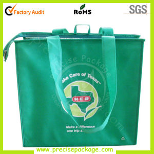 Reusable Nonwoven Shopping Bag with Zipper