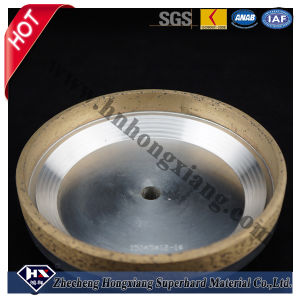 Glass Metal Bond Diamond Cup Grinding Wheel pictures & photos