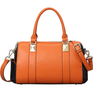 Fashionable Designer Faux Leather Bag Lady Handbags (XD140032)