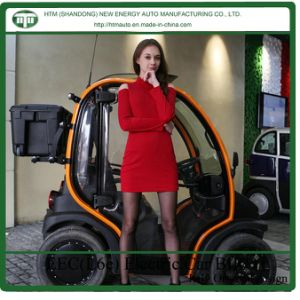4 Wheel Car Electrical with 3kw*2 Hub Motor
