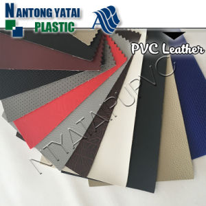 Waterproof Abration Resistance PVC Synthetic Leather for Seat