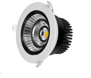 Black Inner Housing Recessed Downlight 10-35W