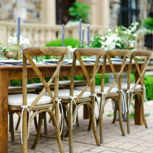 Custom Rental Wedding Cross Back Chair pictures & photos