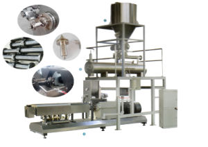 200-250kg/H Twin Screw Extruder Twin Screw Extruder Food Machine for Puff Snack Food pictures & photos