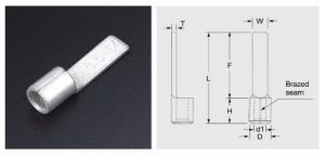 Dbn Series Chip Naked Copper Connector for Electrical Cable pictures & photos