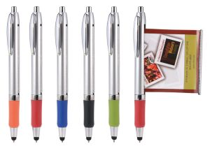 Newest Touch Screen Function Stylus Banner Pen for Promotional pictures & photos