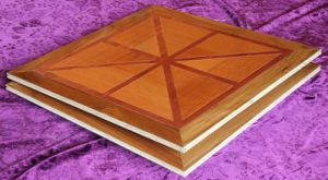 Brazilian Teak Mahogany Parquet Flooring pictures & photos