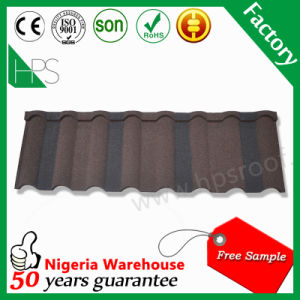 New Zealand Technology Stone Coated Steel Metal Roofing Tiles Hot Sale in Nigeria pictures & photos