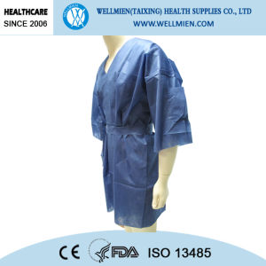 Nonwoven Disposable Hospital Patient Gown pictures & photos