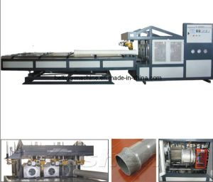 Pipe Socketing Machine for Plastic Extrusion Line pictures & photos