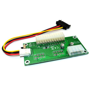 Dual Power Supply Synchronous Start Adapter Card Cable pictures & photos