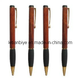 Gift Item Wooden Ball Pen with Rubber Grip (LT-C199) pictures & photos