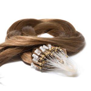 100% Natural Brazilian Virgin Remy Micro Ring/Loop Human Hair Extension