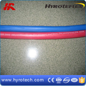 Smooth Cover Oxygon and Acetylene Twin Welding Hose pictures & photos