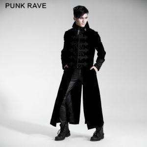 Punk Rave Wholesale Gothic Long Two Pieces Dress Coat (Y-401/BK) pictures & photos