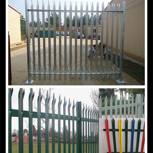 Factory Supply Galvanized Palisade Fence pictures & photos