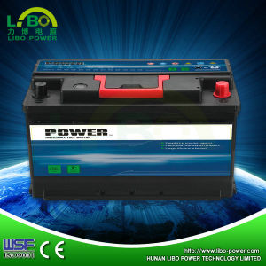 12V Lead Acid DIN Standard Mf Car Battery DIN60mf