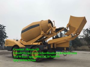 China 95kw Engine Italy Self Loading Concrete Mixer Machine pictures & photos
