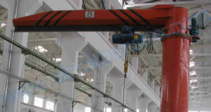 Workshop Used 360 Degree Column Cantilever Jib Crane pictures & photos