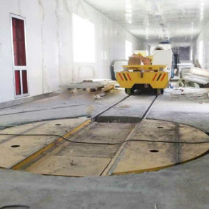 Automobile Assembly Line Turntable Rail Car for Workpiece Transfer pictures & photos