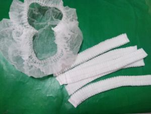 Colorful Disposable Surgical Nylon/Non Woven Cap pictures & photos