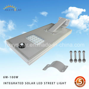 Famous Style Integrated Power 15W Solar LED Street Light All in One Quality Guarantee Outdoor LED pictures & photos