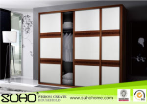 Hot Sale Leather Wardrobe for Bedroom Furniture and Hotel Furniture
