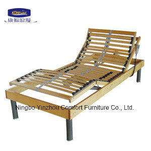 Adjustable Electric Slats Bed Wooden pictures & photos