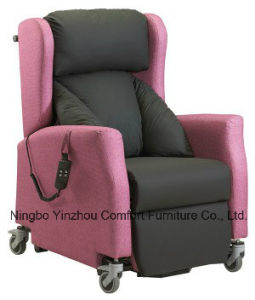New Lift Chair Sofa with Castors with Metal Hand pictures & photos
