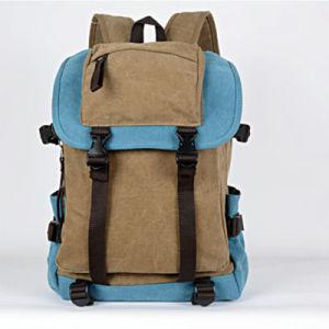Wholesale Luxury Men Canvas Backpack (3828) pictures & photos